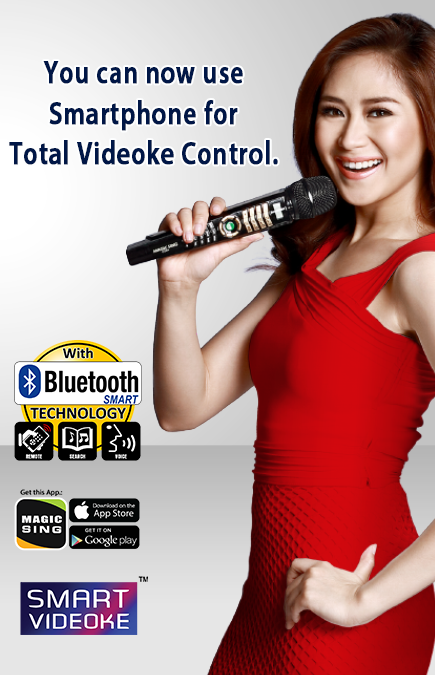 Your Magic Sing is now a SMARTVIDEOKE